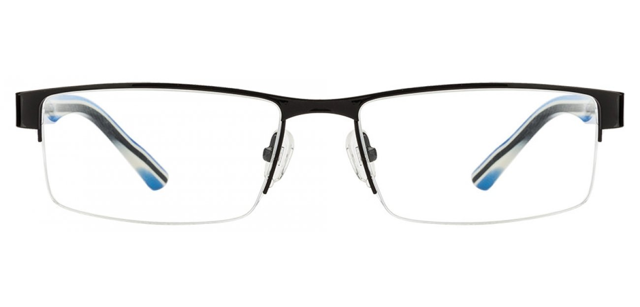 Tommy Hilfiger Glasses Frames Blue : Buy Tommy Hilfiger TH5624 Black Sky Blue C3 Eyeglasses ...