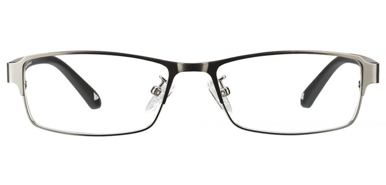 Metal Green Rectangle Eyeglasses Vincent Chase Color Steel VC 2331 - C6
