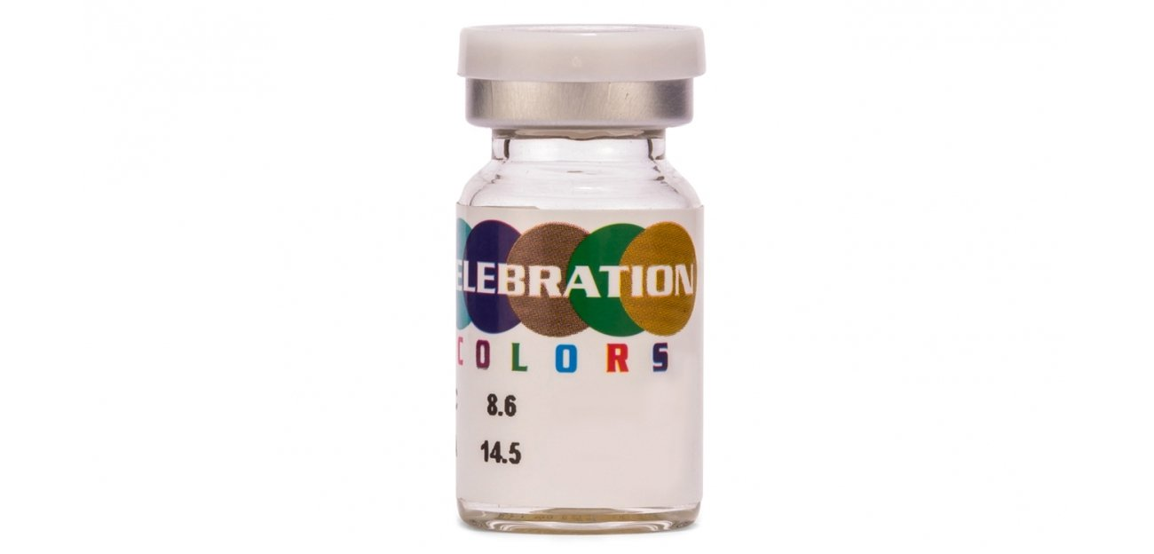 Celebration Color 3 tone Contact Lens ( 1 Lens Box )