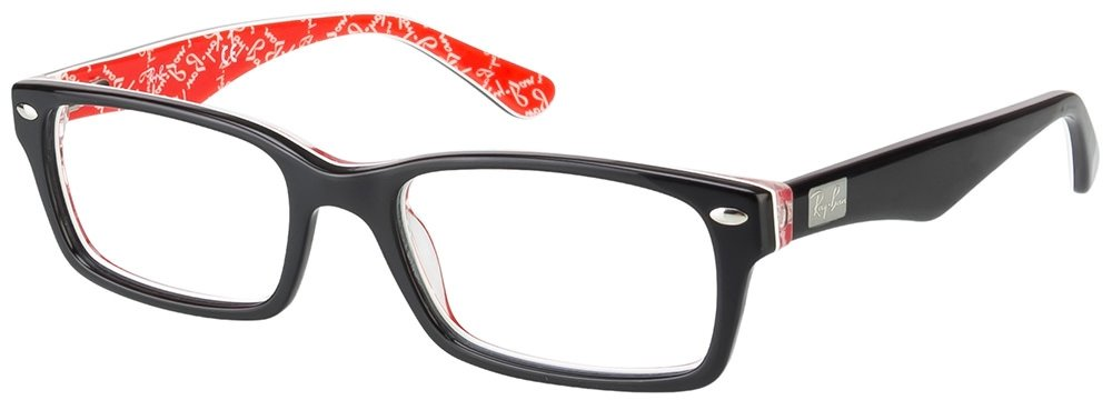 a1d9bd2c02 Ray Ban Rx5206 Black On Red 2479