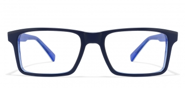 latest eyeglass frames tiwz  Blue Transparent White Line Rectangle Eyeglasses Vincent Chase Turn Tables  VC 6934