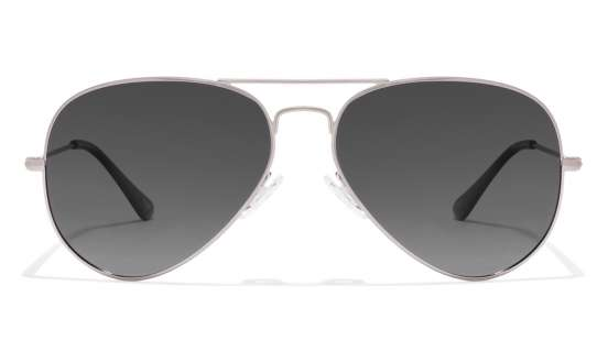 black sunglasses aviator ue2h  Silver Grey Gradient Aviator Sunglasses Vincent Chase Top VC 5158/P
