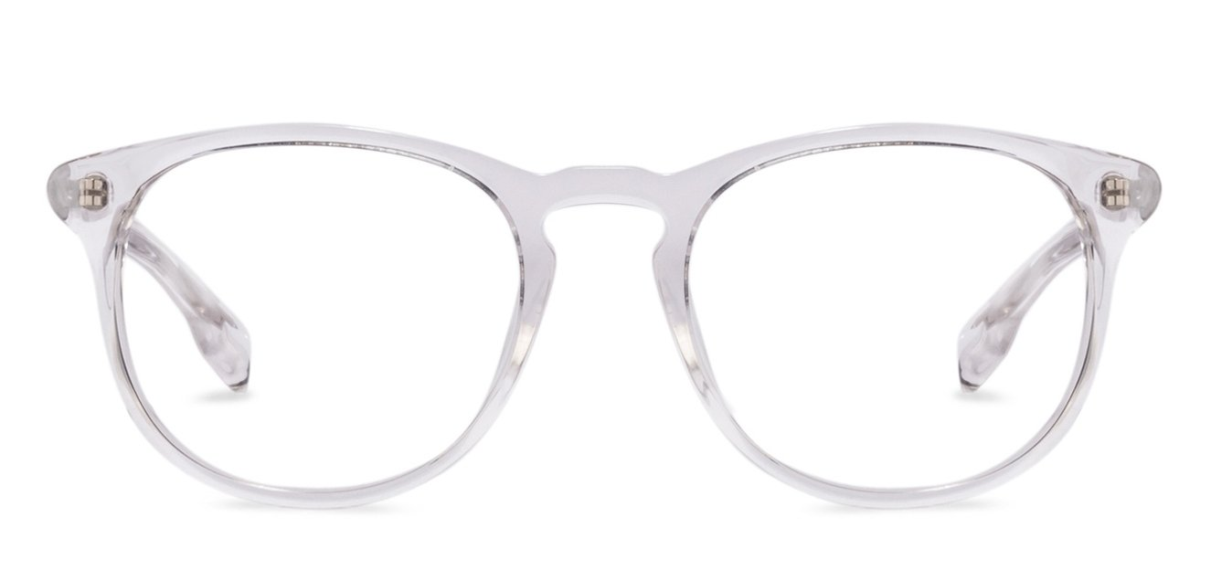 38b248c3e8 Transparent Full Rim Round Small (Size-49) John Jacobs Rich Acetate JJ  E10118-C3 Eyeglasses