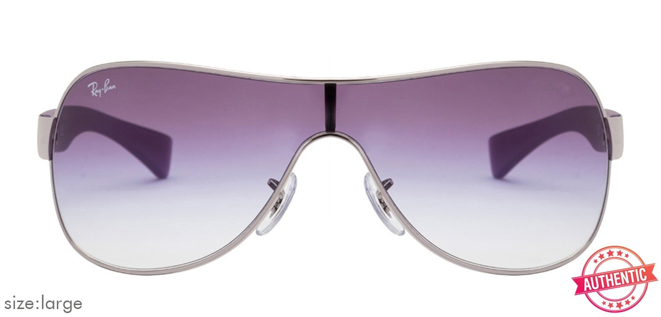 ed006b2e6f Ray-Ban RB3471 Large (Size-75) Silver Purple Gradient Unisex 003-8h  Sunglasses