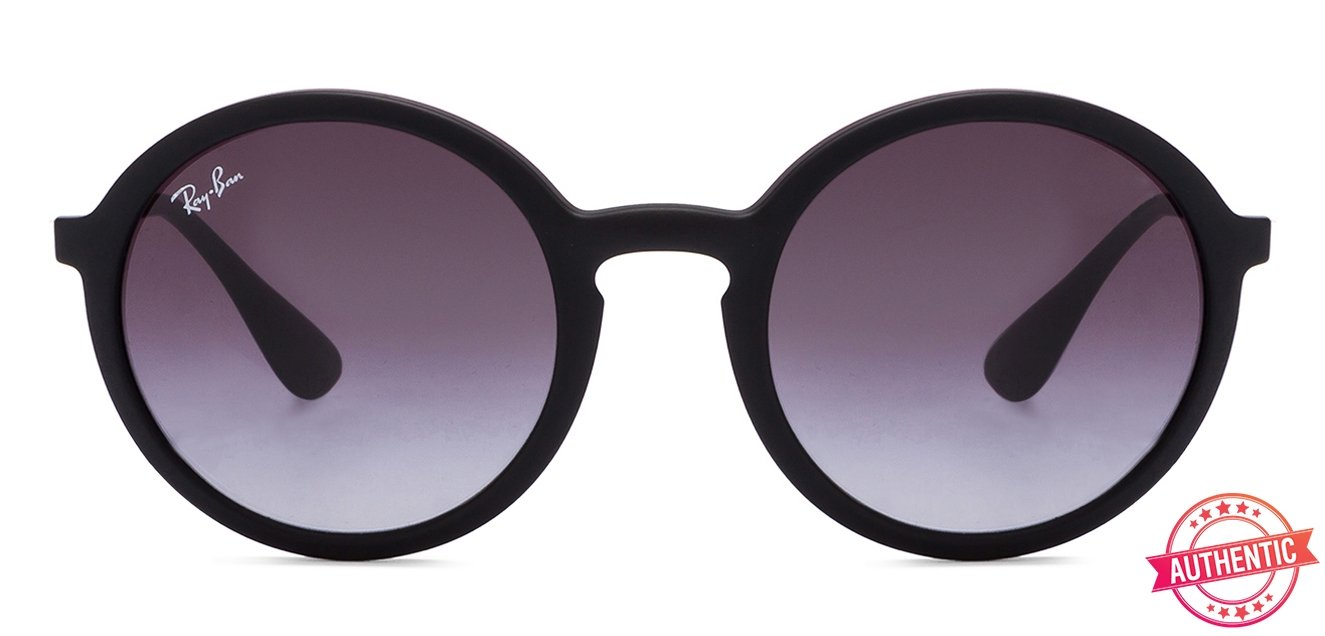 a5b4d88ab1e Ray-Ban RB4222 Small (Size-50) Matte Black Grey Gradient 622 8G Unisex  Sunglasses