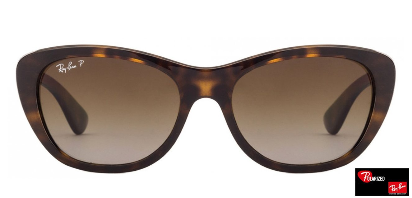 4eb474da60 Ray-Ban RB4227 Small (Size-55) Tortoise Brown Gradient Women Polarized 710- t5 Sunglasses