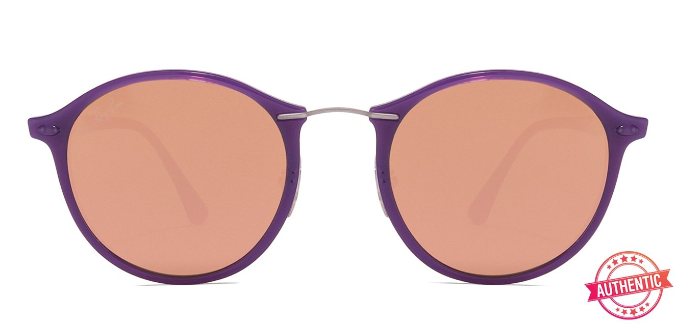 7ec2a0d468 Ray-Ban RB4242 Small (Size-49) Purple Pink Mirror 6034 2Y Unisex Sunglasses