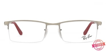 c1ce50ae67 Shop online for Ray-Ban Rx7055 Medium (Size-55) Grey Red 5418 Unisex ...