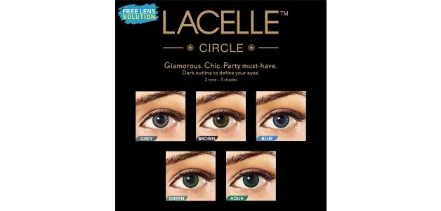 Bausch & Lomb Lacelle Colors Circle