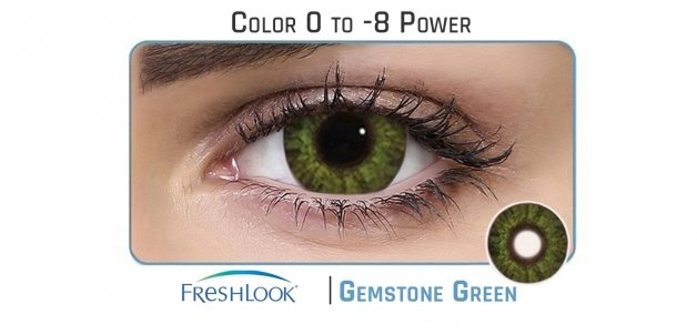 Freshlook  Gemstone Green