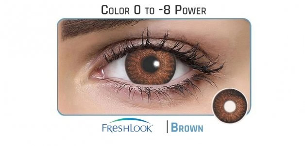 Freshlook  Brown