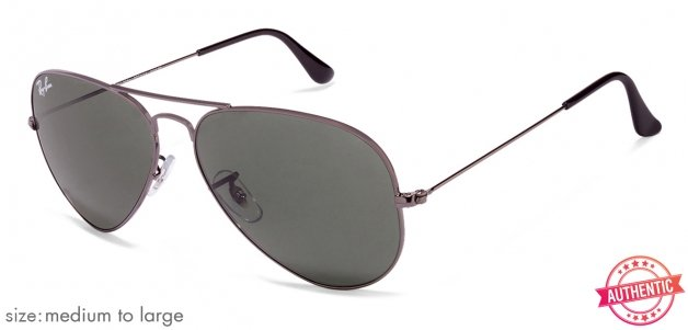 2a283121b41 Ray-Ban RB3025 Medium-Large (Size-58) Metal Unisex 805289090267 Sunglasses