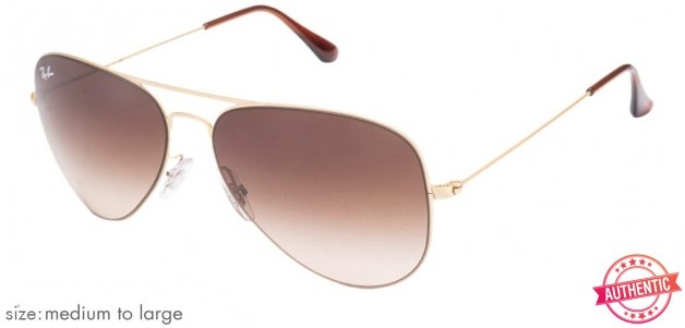 e3f4a49831a Ray-Ban RB3513 Medium-Large (Size-58) Golden Brown Gradient Men 149-13  Sunglasses