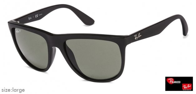 780e74d9cd Shop online for Ray-Ban RB4251 Large (Size-56) Black Green 601 9A Unisex  Polarized Sunglasses