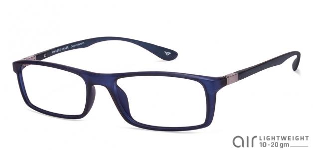 c41955e652f Blue Full Rim Rectangle Large (Size-54) Vincent Chase AIR 007 VC 1440-C3  Eyeglasses at LensKart.com